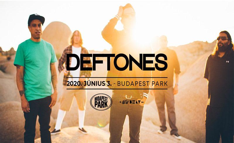 Deftones koncert 2020 Budapest – 2020. JÚNIUS 03. Budapest Park
