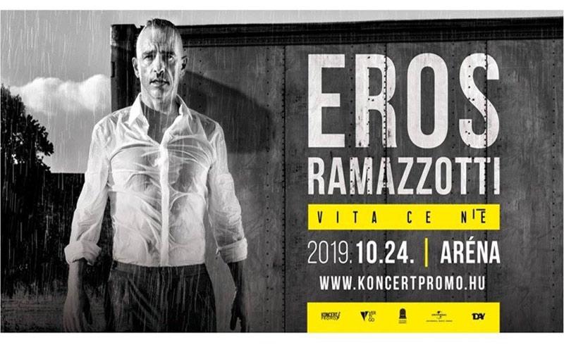 Eros Ramazzotti – Vita Ce N'è World Tour – 2019. OKTÓBER 24. 20:00