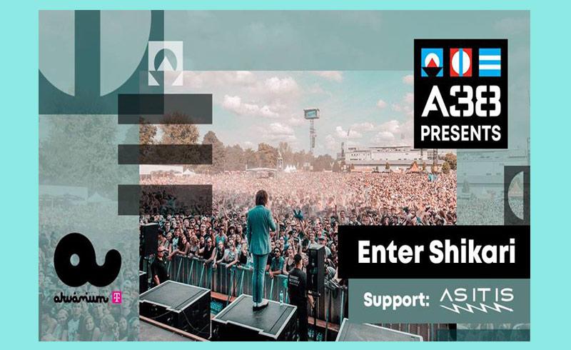 Enter Shikari koncert – 2019. ÁPRILIS 4. 20:00 – Akvárium Klub – LEZAJLOTT