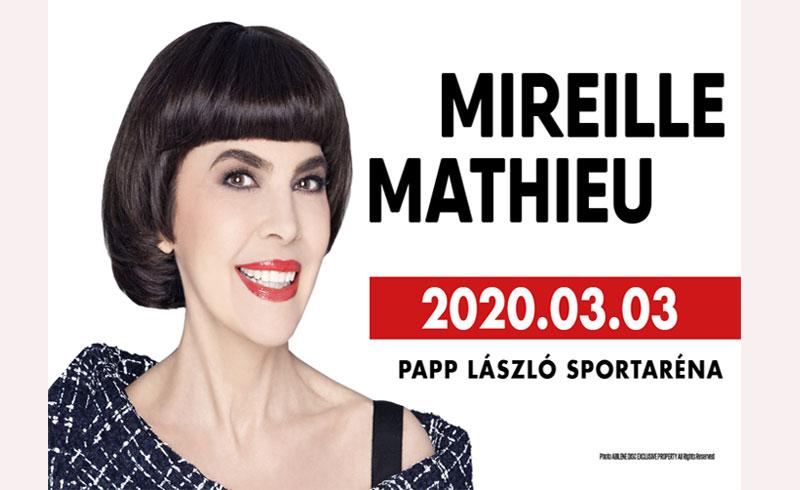 """Mireille Mathieu """"Made in France""""koncert – 2020. MÁRCIUS 3. 20:00 – Papp László Budapest Aréna – JEGYVÁSÁRLÁS"""