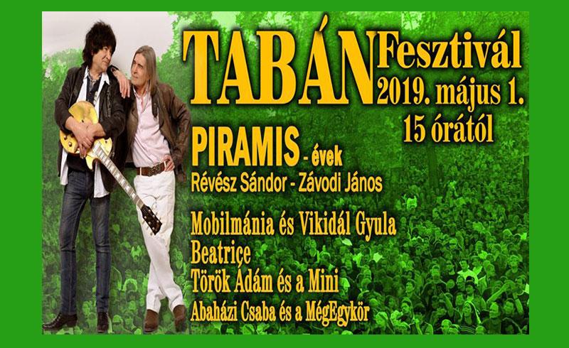 Tabán Fesztivál 2019 – 2019. MÁJUS 01. Tabán – INGYENES -LEZAJLOTT