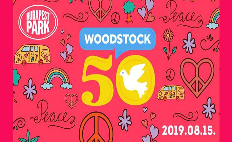 Woodstock 50 – 2019. AUGUSZTUS 15. 18:00 – Budapest Park – JEGYVÁSÁRLÁS