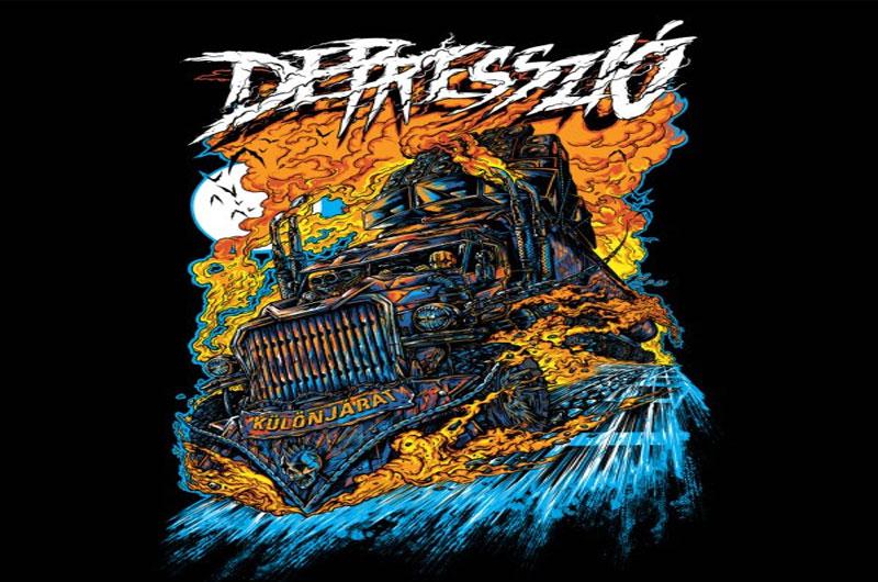 Depresszió – Jön az új album dal- és klippremier: Különjárat