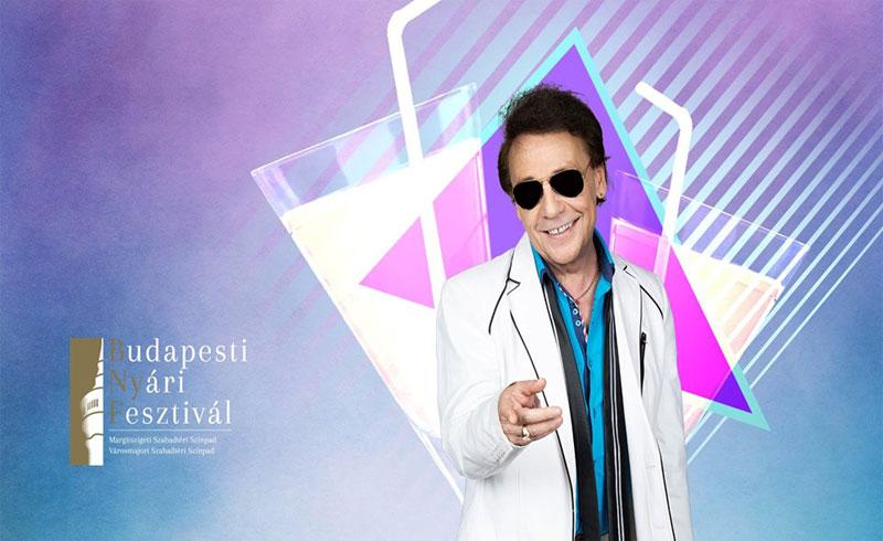 Budapesti Nyári Fesztivál: Csókkoktél – Fenyő Miklós koncertje – 2019. AUGUSZTUS 31. 20:00 – Margitszigeti Szabadtéri Színpad