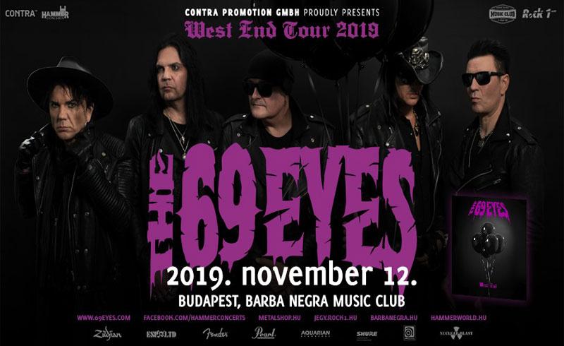 THE 69 EYES: jön az új lemez, novemberben jubileumi turné és budapesti buli!
