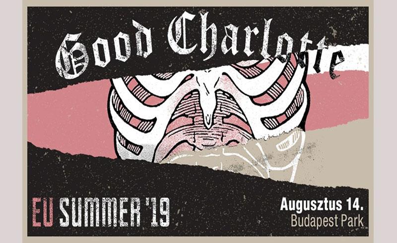 Good Charlotte koncert – 2019. AUGUSZTUS 14. Budapest Park