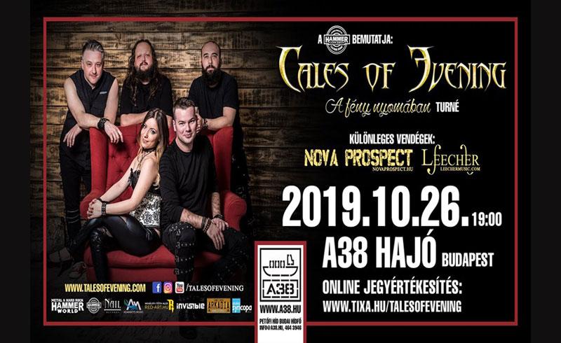 Tales Of Evening – A fény nyomában turné – 2019. OKTÓBER 26. A38 Hajó