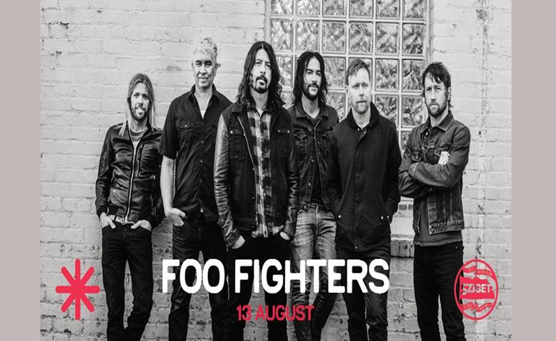 Foo Fighters koncert Sziget 2019 – 2019. Augusztus 13. Sziget Fesztivál, Budapest Óbudai-sziget