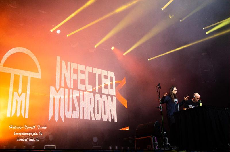 Infected Mushroom, Skazi, Yahel, XYU koncertfotók – 2019.07.12. Budapest Park