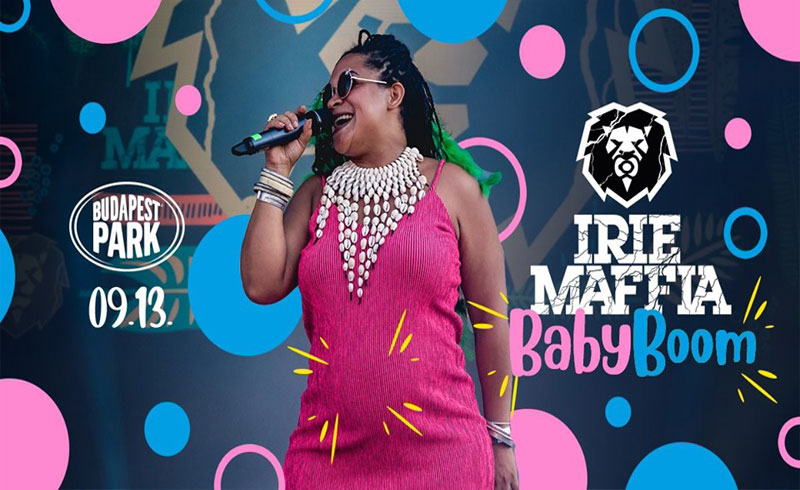 Irie Maffia Baby Boom koncert – 2019. SZEPTEMBER 13. Budapest Park