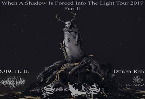 Swallow The Sun, October Tide, Oceanwake: november 11-én érkezik a komor metal-hármas