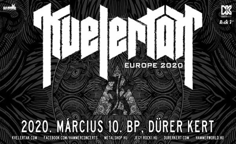 KVELERTAK koncert 2020. MÁRCIUS 10. Dürer Kert