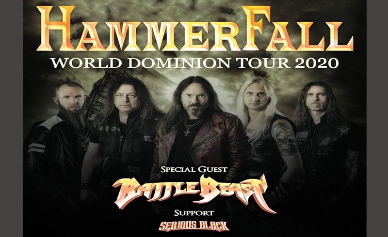 Hammerfall koncert – 2020. FEBRUÁR 20. Barba Negra Music Club