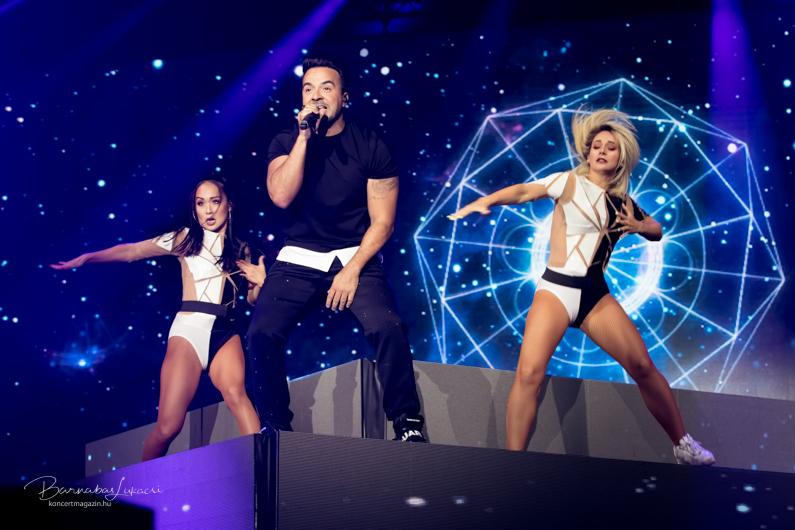 Luis Fonsi – Vida Tourkoncertfotók –2019.08.17. Budapest Sportaréna
