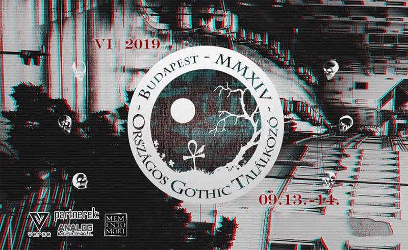 Országos Gothic Találkozó – 2019. SZEPTEMBER 13-14. Analog Music Hall