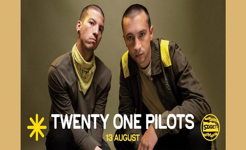 Twenty One Pilots koncert – 2019. AUGUSZTUS 13. Sziget Fesztivál, Budapest Óbudai-sziget