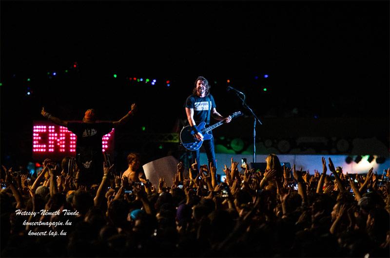 Foo Figthters koncertfotók – 2019.08.13. SZIGET Fesztivál