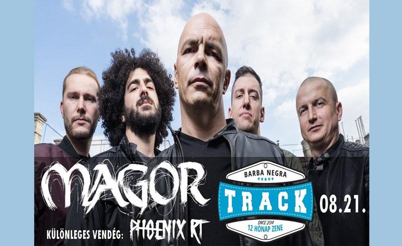 Magor koncert – 2019. AUGUSZTUS 21. Barba Negra Track