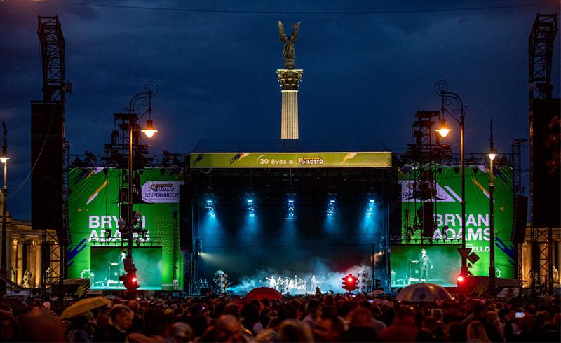 Videón az elmúlt évek legnagyobb hazai koncertje