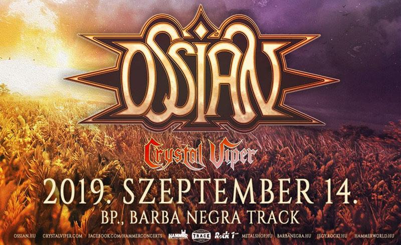 Ossian – holnap lemezbemutató nagykoncert a Barba Negra Track-ben!