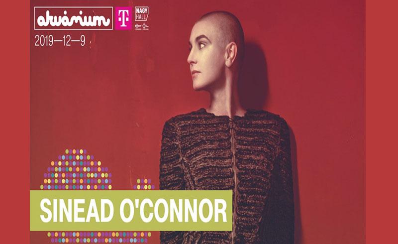 Sinead O'Connor koncert 2019. DECEMBER 09. Akvárium Klub