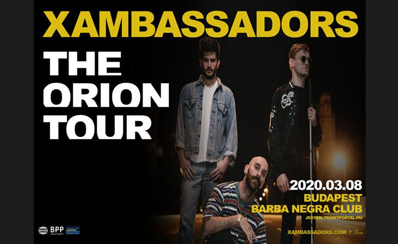 X Ambassadors, februárban új EP, tavasz elején koncert a Barba Negrában