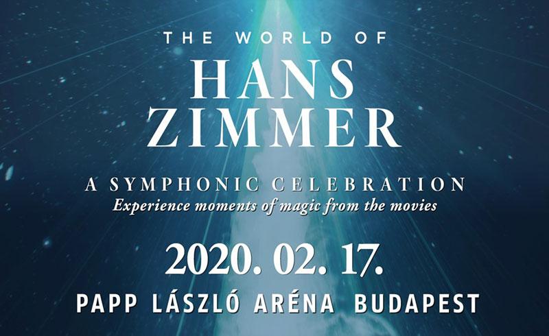 The World of Hans Zimmer – A Symphonic Celebration – 2020. FEBRUÁR 17. Papp László Budapest Sportaréna