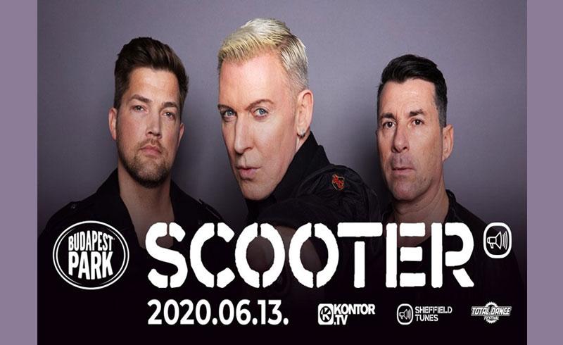 Jővőre is jön a Scooter a Budapest Parkba!