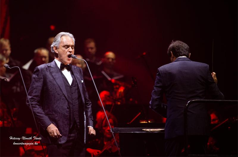 Andrea Bocelli koncert Budapest – koncertfotók – 2019.11.16-17. Papp László Budapest Aréna
