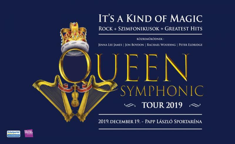 Queen Rock and Symphonic Show – Budapest – 2019. DECEMBER 19. Papp László Budapest Aréna