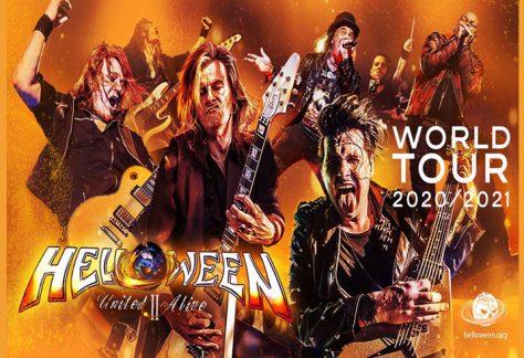 Jövőre Budapestre jön a Helloween is – mindhárom énekesét hozza a német metal zenekar