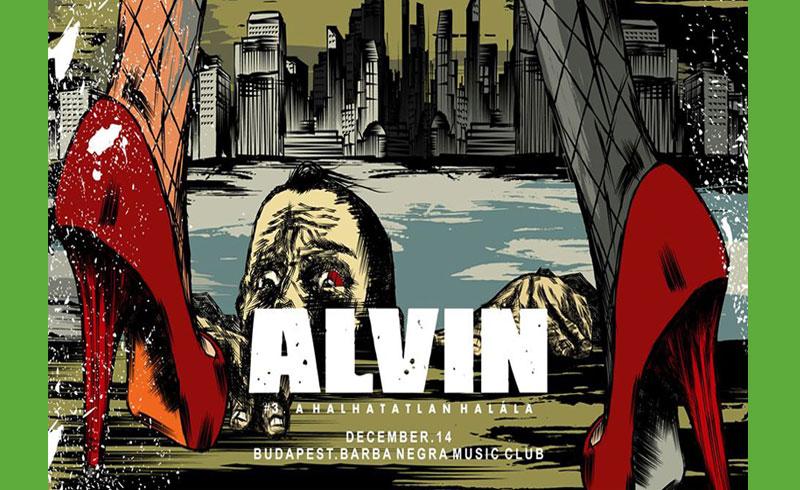 ALVIN és a Mókusok koncert – 2019. DECEMBER 14. Budapest, Barba Negra Music Club
