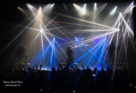 Jinjer koncert Budapest – koncertfotók – 2019.12.22. Barba Negra Music Club