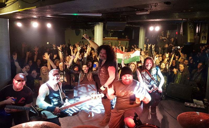 KALAPÁCS: Rudán Joe-val közös koncertekkel és a szolnoki Metal Karácsonyon búcsúztatják az évet