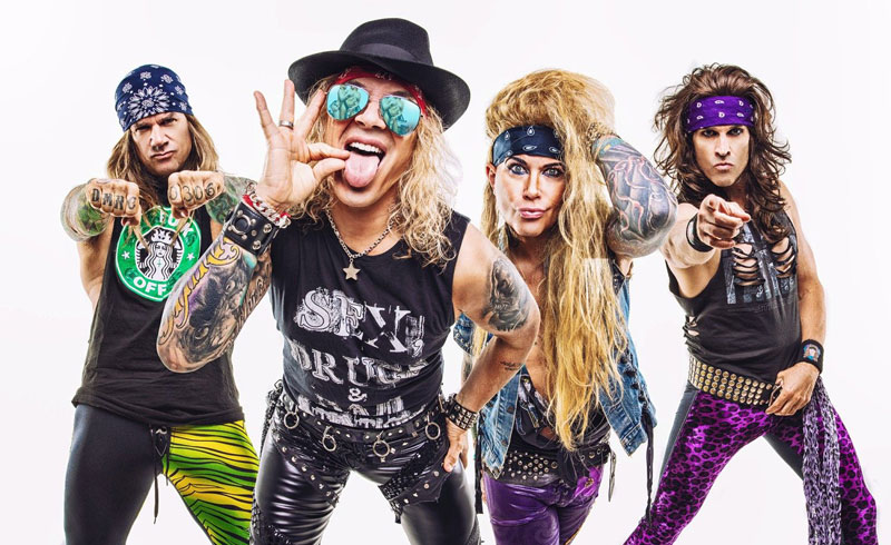 Steel Panther – Heavy Metal Rules Tour 2020 koncert – 2020. JÚNIUS 14. Budapest, Barba Negra Track