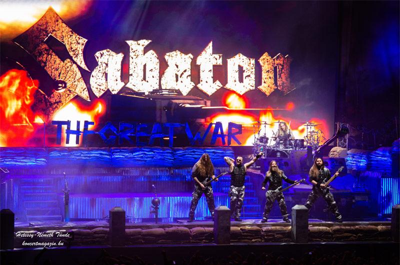 Sabaton – The Great Tour, avagy az idei év első tökéletesre sikeredett nagy bulija a Budapest Arénában!