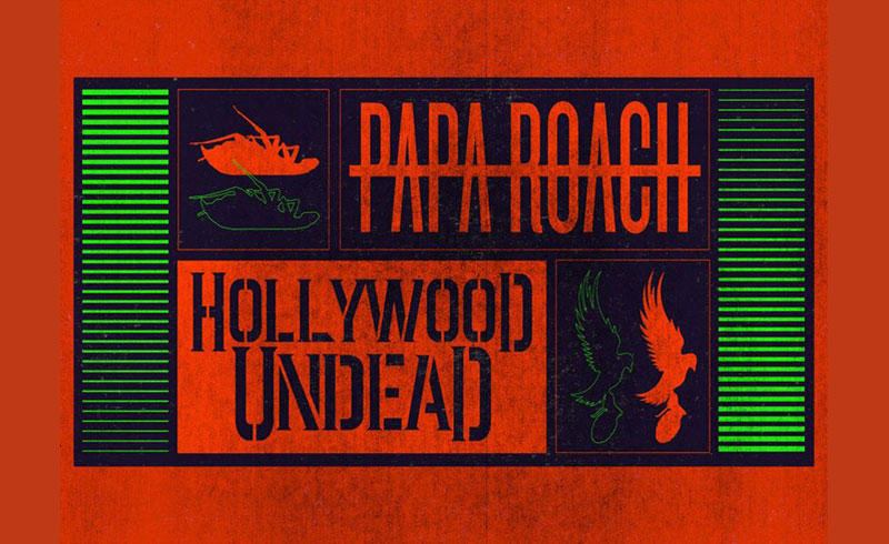 Papa Roach, Hollywood Undead, Ice Nine Kills koncertek Budapest – 2020. MÁRCIUS 4. Papp László Budapest Aréna