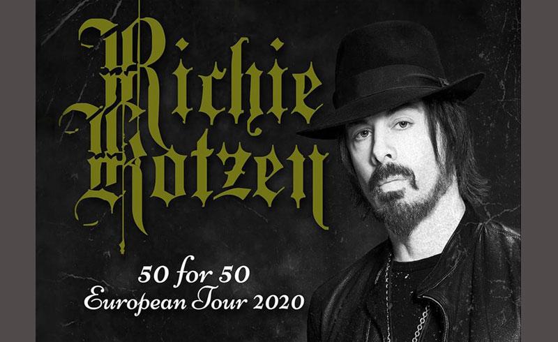Richie Kotzen 50 koncert – 2020. SZEPTEMBER 8. Budapest, Akvárium