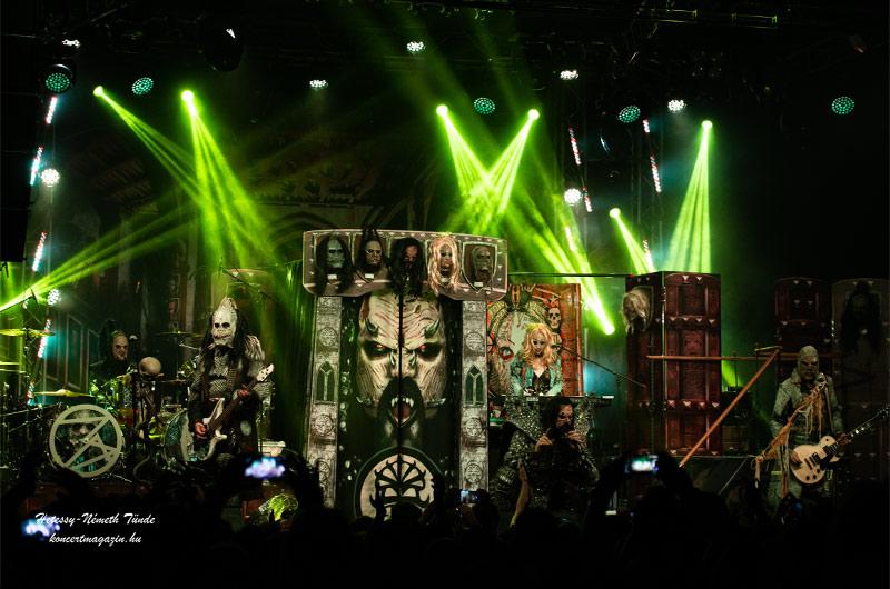 Lordi Killectour 2020 Budapest – koncertfotók2020.02.16. Barba Negra Music Club