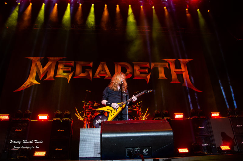 Megadeth 2020 Budapest – koncertfotók 2020.02.20. Papp László Budapest Sportaréna