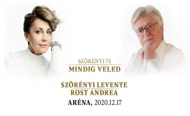 Mindig veled ünnepi koncert – Szörényi Levente, Rost Andrea – 2020. DECEMBER 17. Papp László Budapest Sportaréna