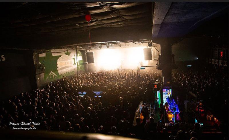Barba Negra közleménye – 500 fő alatti koncertek sem lesznek november 13-ig!