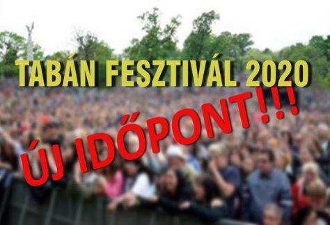 ÚJ IDŐPONT! – Tabán Fesztivál 2020. AUGUSZTUS 21. Tabán