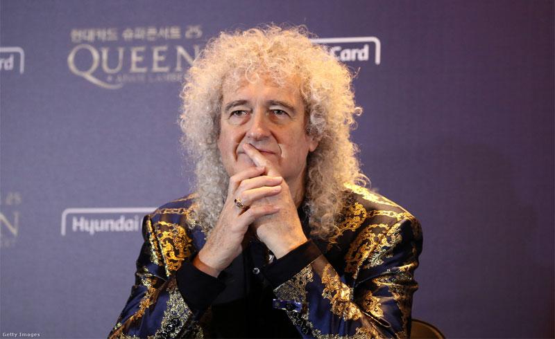 Brian May – Szívrohamon esett át a Queen gitárosa, de már jobban van
