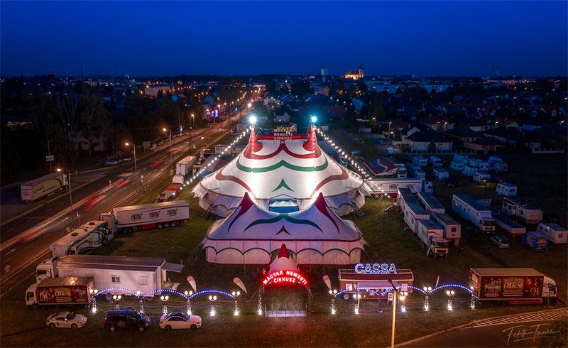 Július 1-én nyitja meg kapuit Balatonlellén a Magyar Nemzeti Cirkusz utazócirkusza!