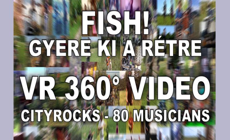 Különleges VR 360° videót készített a CityRocks, Magyarország legnagyobb rockzenekara