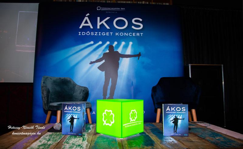 Ákos Idősziget Koncert – Dupla Aréna DVDmegjelenésSajtótájékoztató fotók – 2020.09.28. Budapest, Akvárium Klub
