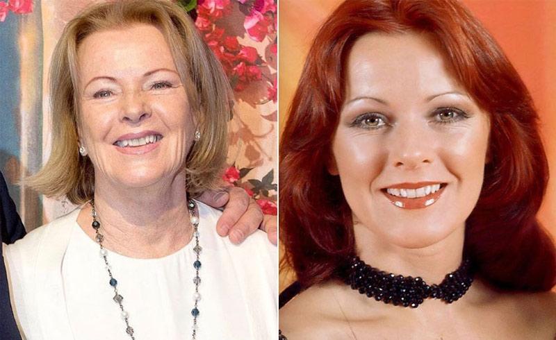 Ma ünnepli 75. születésnapját Frida az ABBA énekesnője