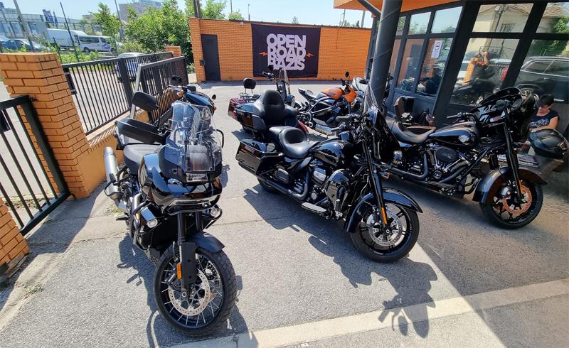 Szombaton tesztnap és Mystery Gang koncert a Harley-nál