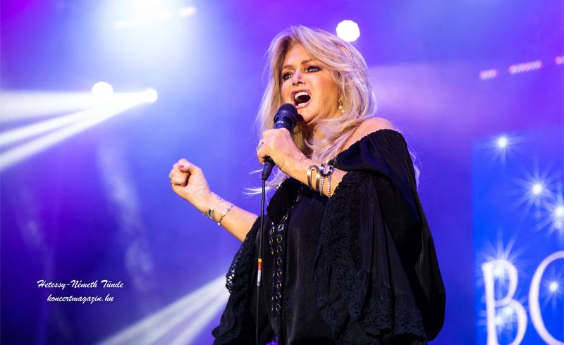 Bonnie Tyler koncertfotók – 2021.09.11. Budapest, Barba Negra